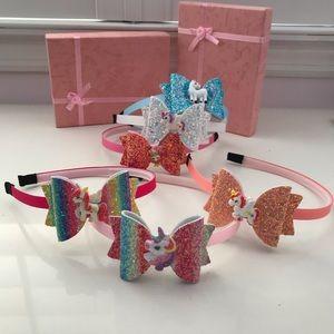 Unicorn 🦄 mermaid 🧜♀️ Sparkly headbands